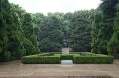 중국 상해 홍구공원 노신 동상