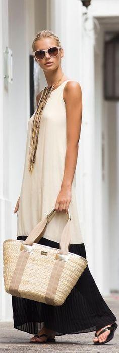 Vichy Maxi Dress