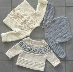 Baby Knitting Patterns For KidsFree baby knitting pattern set including a lace cardigan and booties.Knit Baby Cardigan and Sweater Vintage Pattern Lace v-neck knitting pullover top retro clothes girlNo photo description available. Baby Knitting Patterns, Knitting For Kids, Baby Patterns, Crochet Patterns, Free Knitting, Free Crochet, Knitted Baby Cardigan, Knitted Baby Clothes, How To Purl Knit
