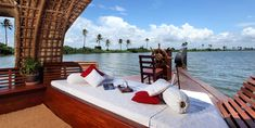 Kerala Houseboats are the main attracting factor of backwater travel. Fully decorated boat for honeymooners is more curious. http://pavanyathri.com/houseboat.php