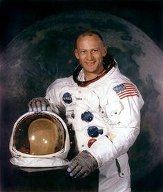 """Edwin E. """"Buzz"""" Aldrin, Jr., Apollo 11 (1969)"""