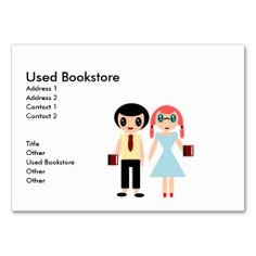 Bookstore business card bookstores business cards and business reheart Gallery