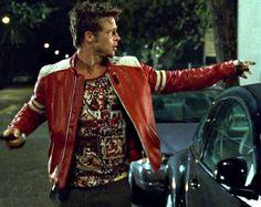 Fight Club Tyler Durden T-shirts? Fight Club 1999, Fight Club Rules, Tyler Durden, Club Style, Mode Style, Brad Pitt, Viernes Casual, Mafia, Retro Watches
