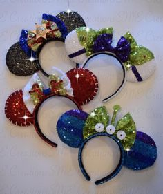 Arts And Crafts Stores Nyc Disney Diy, Diy Disney Ears, Disney Bows, Disney Crafts, Disney Outfits, Disney Ears Headband, Minnie Mouse Headband, Disney Headbands, Disneyland Ears