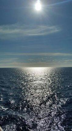 Ceu azul e um mar maravilhoso.