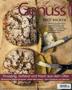 """Lust auf Genuss 11/2017 """"Brot backen"""""""