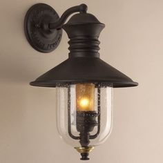 Old Town Outdoor Wall Lantern - modern - outdoor lighting - by Lumens