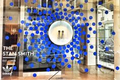 Colette x Stan Smith windows by Studio XAG, Paris   France window display
