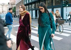 Phil Oh's Best Street Style Pics From Milan Fashion Week | Giorgia Tordini and Gilda Ambrosio in Attico