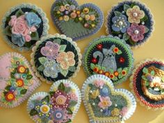 homemade flowers - Google Search