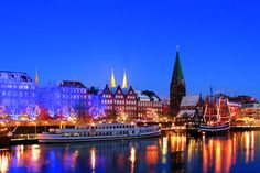 Weihnachtsmarkt, Bremen, Deutschland: