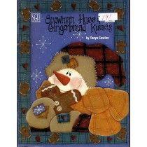 Snowman Gingerbread Halloween Christmas Painting Patterns
