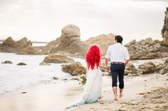 This Little Mermaid Themed Wedding Starring Ariel Is Too Adorable?See the Pics!v