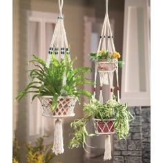 Macrame in the 70's….spent hours and gave many gifts from this fad...