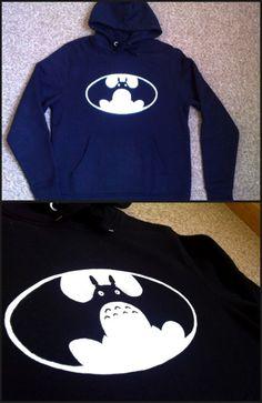 totoro hoodie!