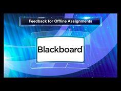 Providing Blackboard Feedback on Paper Assignments Blackboard Learn, Blackboards, School Ideas, Student, Learning, Paper, Image, College Students, Writing Boards