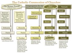 Image result for the hierarchical structure of the eastern catholic churches