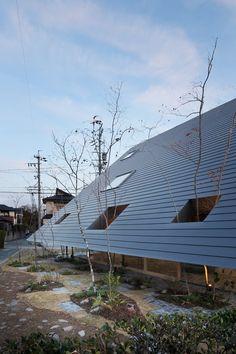 Eaves House,© Kai Nakamura