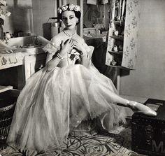 А.Маркова На репетиции PAS DE QUATRE - Мария Тальони 1948