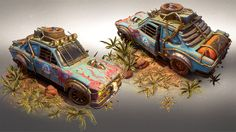 Desert Express: Creating A Game from 3D Scene