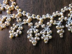 tatting pearls