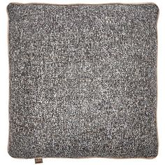 Medium Brown Square Cushion