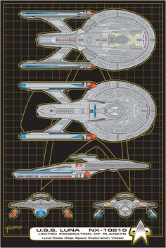 U.S.S. Luna Commission-Glaslyn by stourangeau.deviantart.com on @DeviantArt