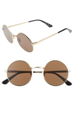 329a3c7a37 Complete any street style look with these eye-catching round sunnies.  Latest Sunglasses