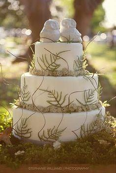 Owl Cake, cute
