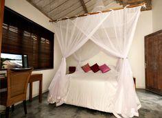 Cozy bedroom in our very own Villa Adagian in Bali villa-adagian-umalas-bali-bedroom-air-conditionning-left-with- computer Bali Bedroom, Cozy Bedroom, Bali Holidays, Luxury Villa, Relax, Furniture, Home Decor, Luxury Condo, Homemade Home Decor
