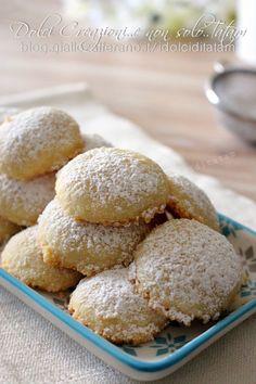 Ricetta Biscotti morbidi alla vaniglia, che si sciolgono in bocca