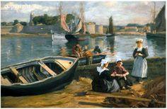Concarneau et ses Peintres -peintres Français - Fournier Alfred-Victor