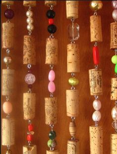 Wines Corks Bead Curtains - Bing Immagini