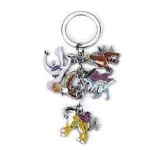 Legendary Pokemon Keychain