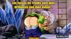 Les fesses de Trunks... - Be-troll - vidéos humour, actualité insolite