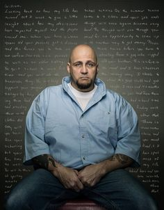 A Photographer Asked Convicts To Write To Their Younger Selves And The Results Were Gut-Wrenching