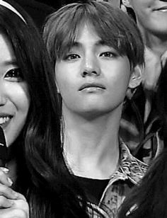 BTS Tae and there's me dying in the background