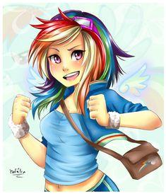 Rainbow Dash by *Nataliadsw on deviantART