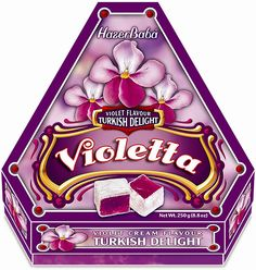 Violet Turkish Delight, I would totally sell out my siblings for this,where's my white queen that dispenses sweets?