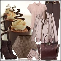 """Rainy Day Chocolate"" by jacque-reid on Polyvore"