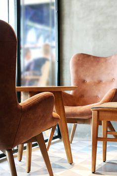 Location Kartal, İstanbul Year 2015 Client N/A Job description Complete identity design & Interior design Function Coffee shop Project area 300 m² Stat. Identity Design, Coffee Shop, Armchair, Dining Chairs, Interior Design, Projects, Furniture, Home Decor, Coffee Shops