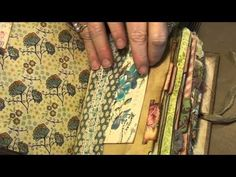 Junk Journal process video part 3 ( last one ) - YouTube