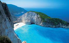 Shipreck Bay in Zakynthos island Greece  #landscape #shipreck #zakynthos #island #greece #photography