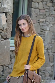 Happy Kinda Life - Jumper weather has arrived and with it comes wonderful knitwear, like our Jemima longer length crew neck. Rendered in our lightweight, soft, easy-care mohair blend in a vibrant gold colour. This cosy pullover is perfect for wearing year round.