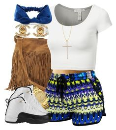 """Ca-chang, ca-chang, bling, bling, bling!"" by livelifefreelyy ❤ liked on Polyvore featuring Steve Madden, Doublju, GUESS and Carolina Loyola"