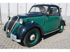 1936 Fiat Topolino by willemsknol, via Flickr