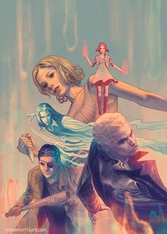 Gallery of comic book cover art for Whedonverse titles like Buffy the Vampire Slayer and Angel & Faith, by Steve Morris. Darkhorse Comics, Steve Morris, Buffy Im Bann Der Dämonen, Comic Art, Comic Books, Buffy Summers, Joss Whedon, Buffy The Vampire Slayer, Geek Culture