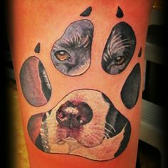 Tattooed by Peter!  #centralbodyart #tbay #tbaytattoo #tattoo #inked #dogtattoo #portrait #eternalink