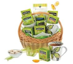 You want a green tea goodies basket? Enter the Mothers Day sweepstakes to win!