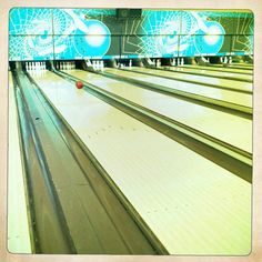 My dad taught me to bowl.  I've been doing it since I was very little.  I'm not a pro, but I love bowling anyway.